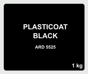 Plasticoat Black AND 5525 (1kg)