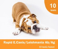 Rapid E.Canis Ab/Leishmania Ab Test Kit, 10x1 test