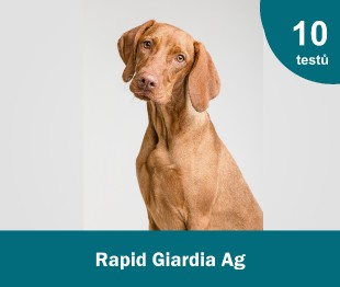 Rapid Giardia Ag Test Kit, 10x1 test